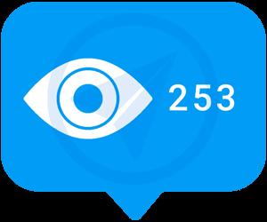 بازدید پست تلگرام